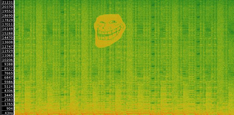 The trollface